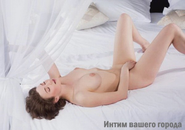 Рада: мастурбация члена грудью